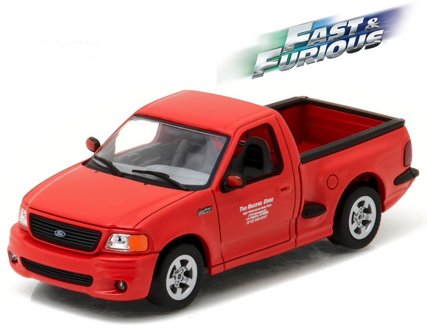 86235    Brian's 1999 Ford F-150 SVT Lightning, (The Fast & The Furious) Greenlight
