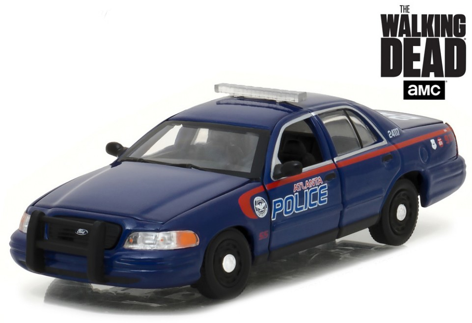 "86510    2001 Ford Crown Victoria Police Interceptor ""The Walking Dead"", Greenlight"