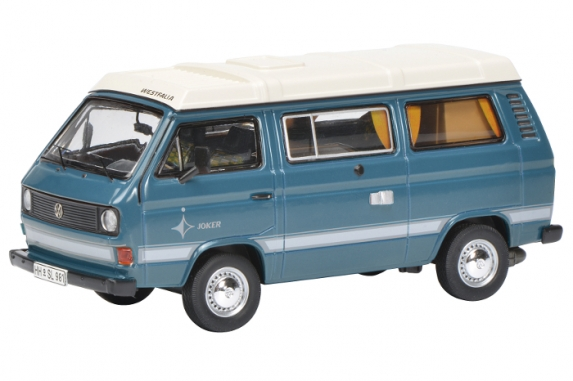 450347600  VW T3a Joker Campingbus, Schuco