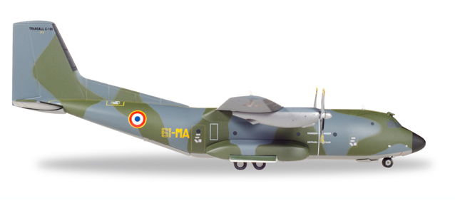 "558877    Transall C-160 ""French Air Force ET61/50 Years of Service"", Herpa Wings"