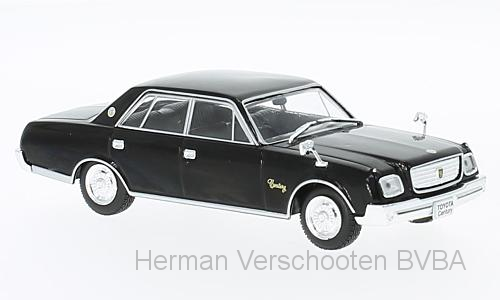 F43-009  Toyota Century 1967, zwart, First 1:43 Models