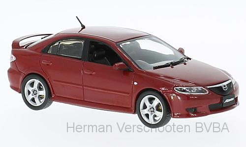 F43-026    Mazda Atenza 2002, rood, First 1:43 Models