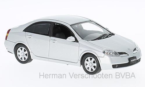 F43-049  Nissan Primera 2001, zilver, First 1:43 Models