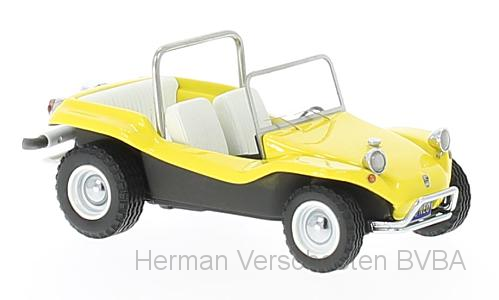 44476  VW Dune Buggy Meyers Manx, geel, Neoscale Models