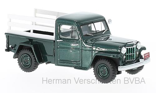 45804    Jeep Pick-Up, groen met houtenframe, Neoscale Models