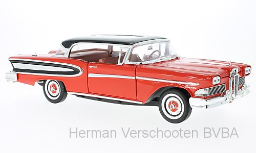 WB18006    Ford Edsel Citation, rood/zwart, Whitebox
