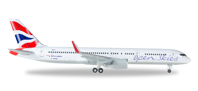 "530019    Boeing 757-200 ""OpenSkies (British Airways)"", Herpa Wings"