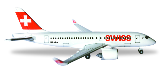 "530736    Bombardier CS100 ""Swiss Int. Air Lines"", Herpa Wings"