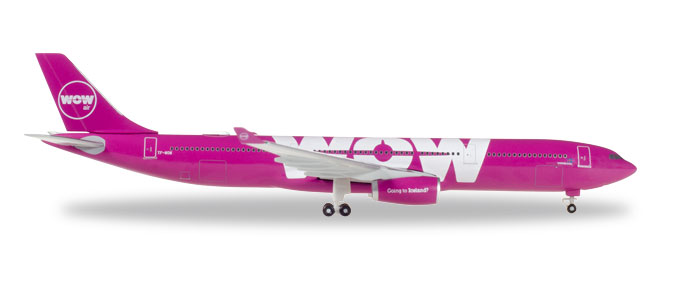 "530743    Airbus A330-300 ""Wow Air"", Herpa Wings"