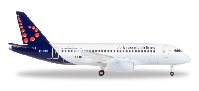 "530774    Sukhoi SSJ-100 (Superjet) ""Brussels Airlines (B)"", Herpa Wings"