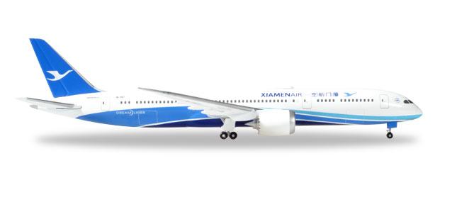 """530958  Boeing 787-9 D. """"XiamenAir"""", Herpa Wings"""