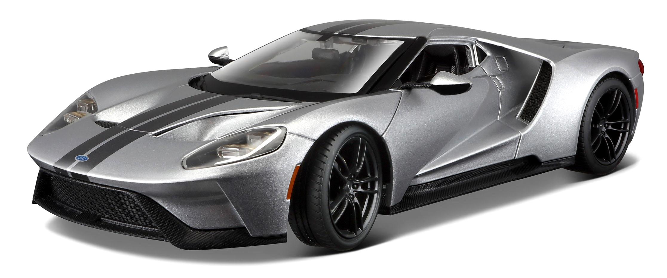 31384Z  2017 Ford GT, zilver, Maisto
