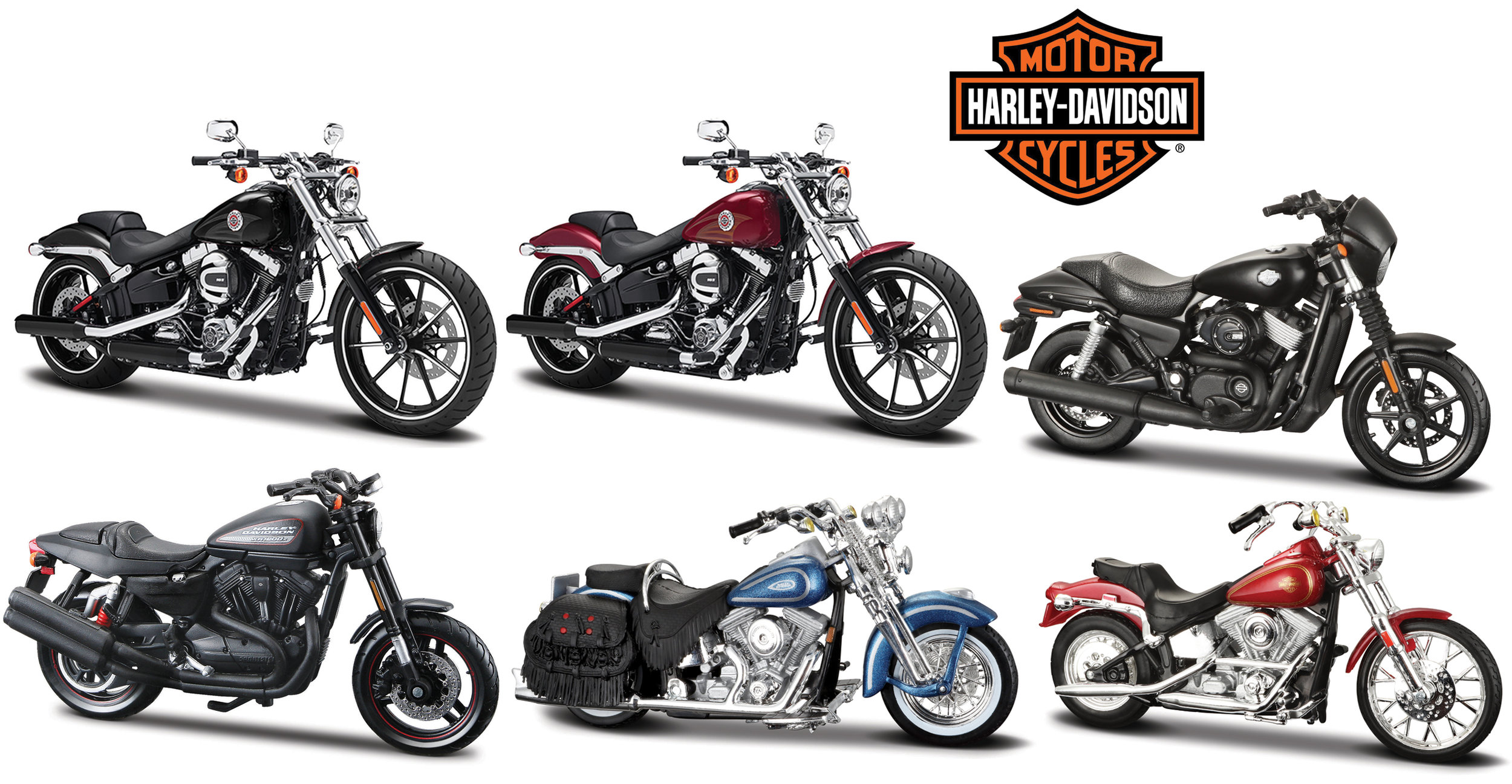 39360 Harley Davidson Assortiment, Maisto