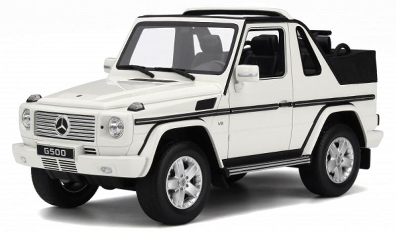 OT275  Mercedes-Benz G-Klasse Cabrio, wit, Otto Mobile