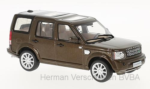 WB269    Land Rover Discovery 4, met. bruin, Whitebox