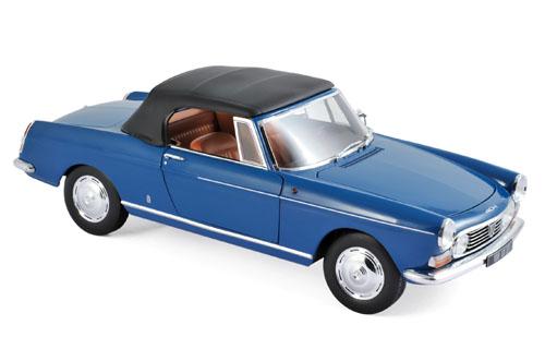 184832  Peugeot 404 Cabriolet 1967, Mendozablauw, Norev