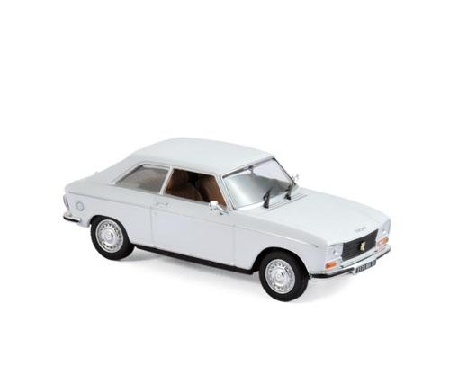 473413  Peugeot 304 Coupé S 1974, Alaska White, Norev