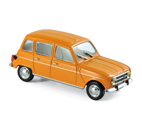 510039  Renault 4 1974, Oranje, Norev