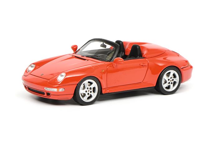 450887800  Porsche 911 Speedster, rood, Schuco