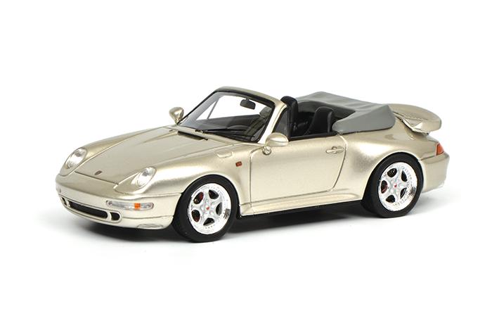 450887900  Porsche 911 Cabrio, grijs met., Schuco