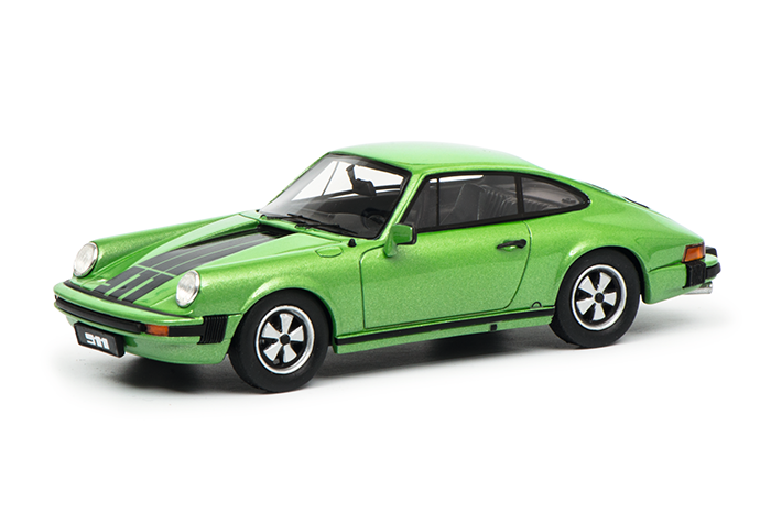 450891900  Porsche 911 Coupé, groen, Schuco