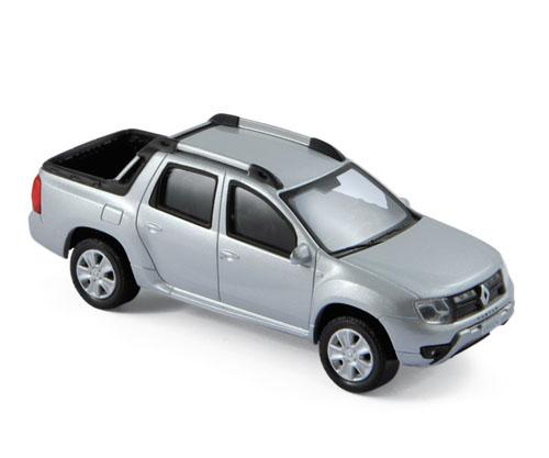 511316  Dacia Duster Oroch 2016, zilver, Norev
