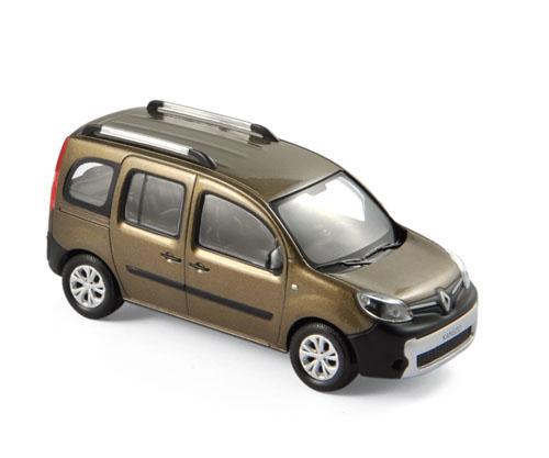 511320  Renault Kangoo Ludospace 2013, bruin, Norev