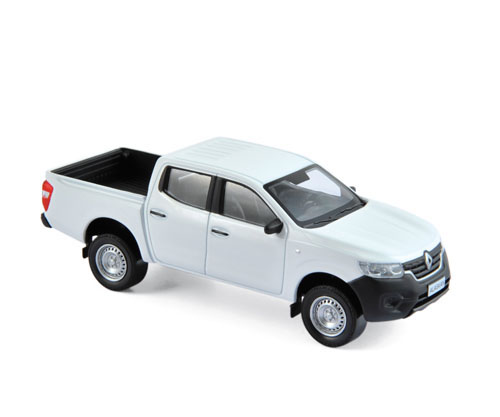 518398    Renault Alaskan Pick-Up Van 2017, wit, Norev