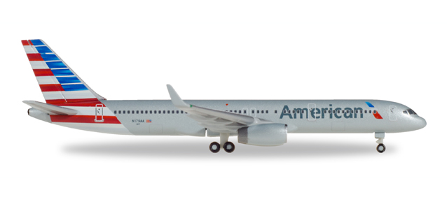 "530125    Boeing 757-200 ""American Airlines"", Herpa Wings"