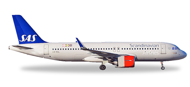"531054  Airbus A320neo ""SAS Scandinavian Airlines"", Herpa Wings"
