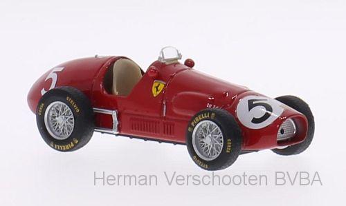 "R044  Ferrari 500 F2, ""No.5 Ascari"", Brumm"
