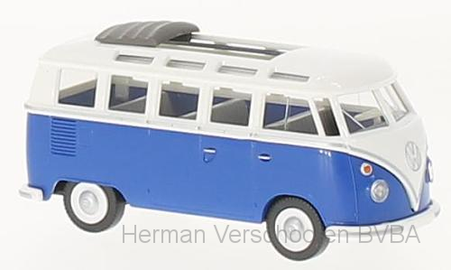 79721    VW T1 Sambabus, blauw/wit, Wiking