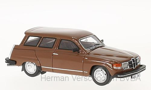 43767  Saab 95 GL, bruin, Neoscale Models