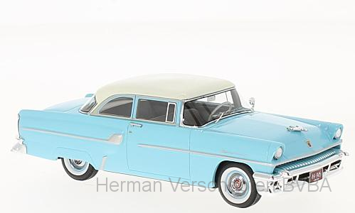 46945    Mercury Custom 2-door Sedan, lichtblauw/wit, Neoscale Models
