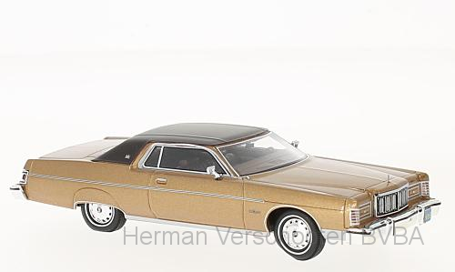 46950  Mercury Marquis 2-door Hardtop Coupé met. donkerbeige/donkerbruin, Neoscale Models