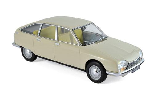 181623  Citroën GS 1971, beige, Norev