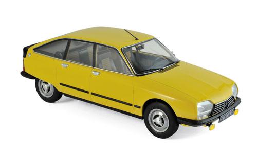 181624  Citroën GS X3 1979, geel, Norev
