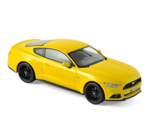 270554  Ford Mustang 2015, geel, Norev
