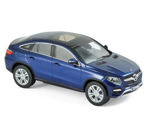 351338  Mercedes-Benz GLE Coupé 2015, blauw met., Norev