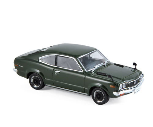 800613  Mazda Savanna RX-3 Coupé 1972, donkergroen, Norev