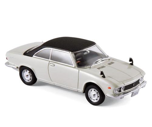 800642  Mazda Luce Rotary Coupé 1969, wit/zwart, Norev