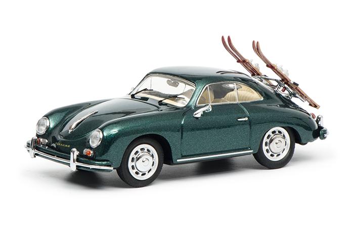 """450255900  Porsche 356 Coupé """"70 Jahre Porsche"""", groen, Schuco"""