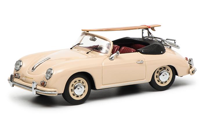 """450256900  Porsche 356 Cabrio """"70 Jahre Porsche"""", beige, Schuco"""