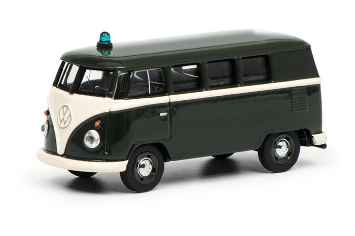 """452015400  VW T1 """"Polizei"""", Schuco"""