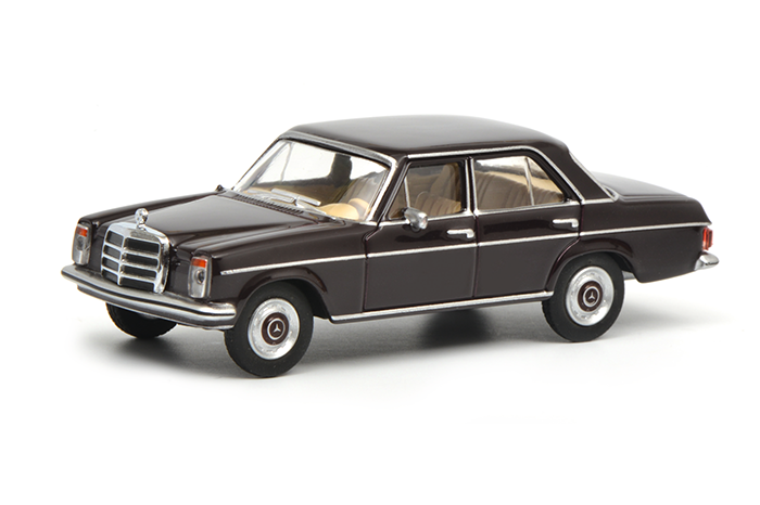 452015600  Mercedes Benz 200D, blauw, Schuco