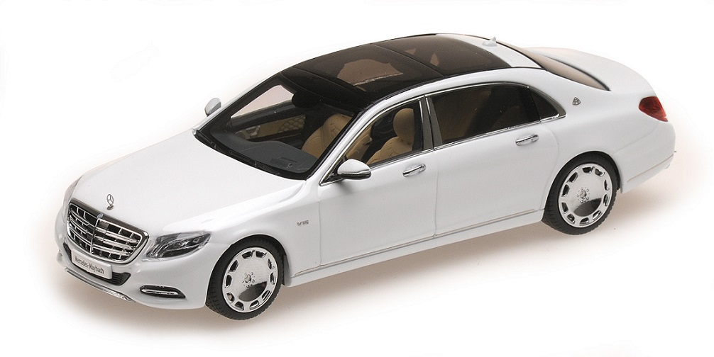 ALM420102    Mercedes-Benz S-Class Maybach 2016, wit, Almost Real