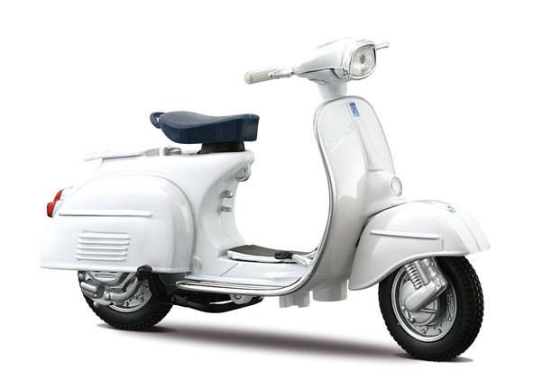 05082W  Vespa Scooters 125 GT 1966, Maisto