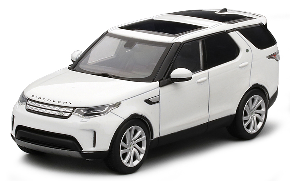 TSM430149    Land Rover Discovery, Fuji White, Truescale Miniatures