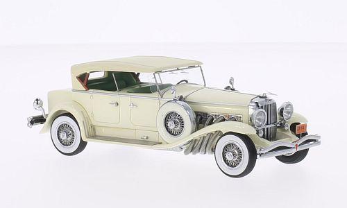 45941  Duesenberg Model J Tourster Derham 1930, Beige, Neoscale Models