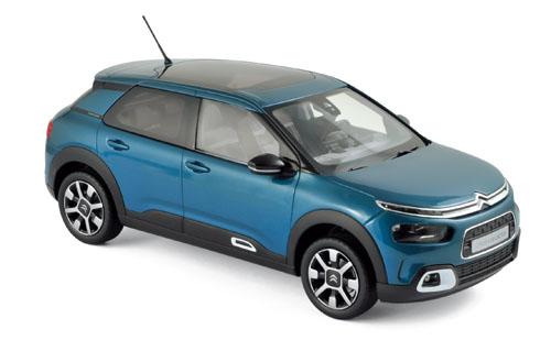 181660  Citroën C4 Cactus W 2018 blauw & wit, Norev